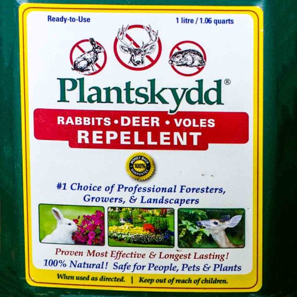 Plantskyd label