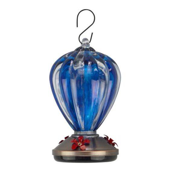 Hummingbird Feeder Blue Balloon