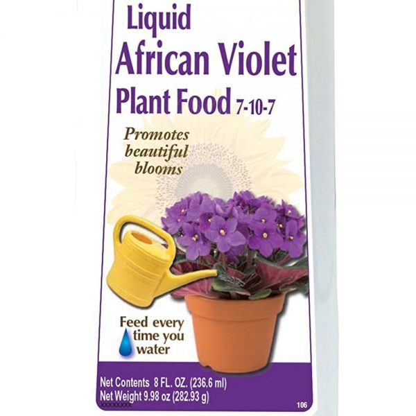 African Violet Liquid Fertilizer Concentrate