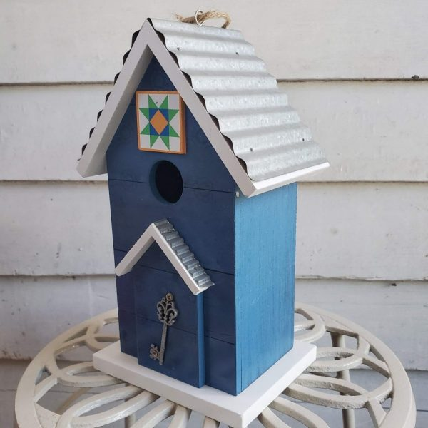 Birdhouse Key to Happiness