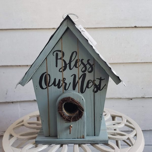 Birdhouse Bless Our Nest