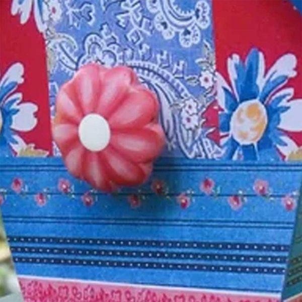 Birdhouse Blue Patchwork