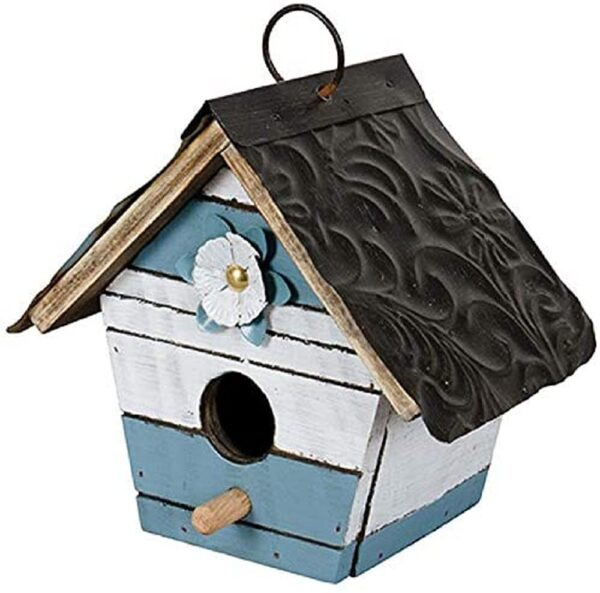 Birdhouse Blue Slat