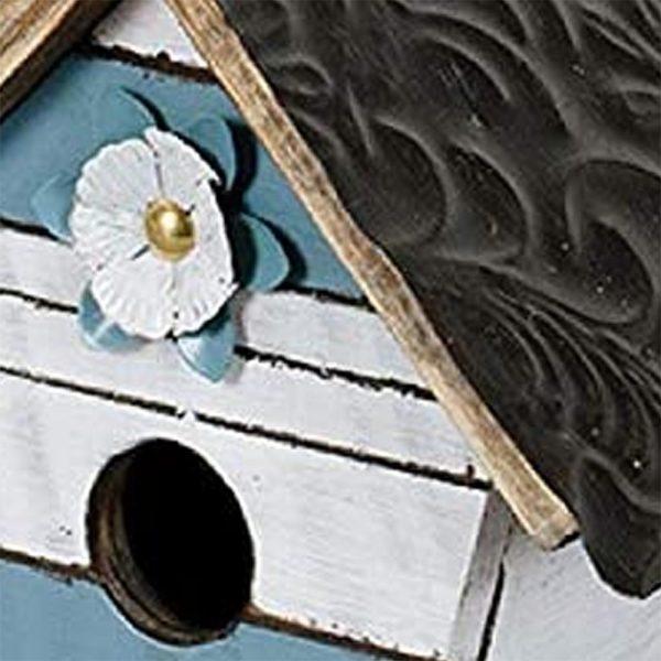 Birdhouse Blue Slat