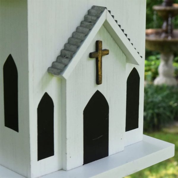 Birdhouse Rustic Church