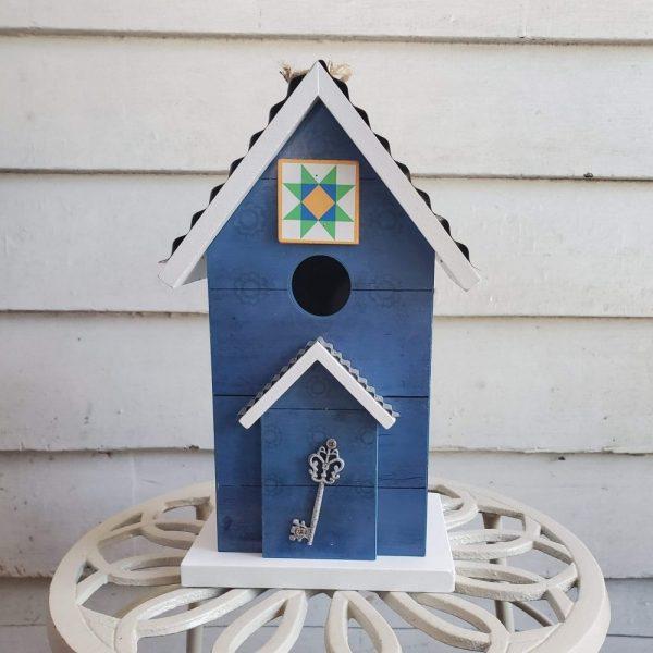 Birdhouse Key to Happiness