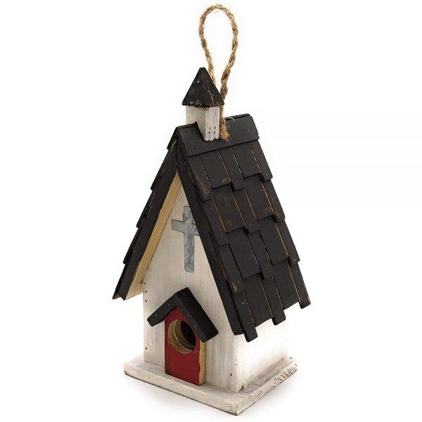Birdhouse Red Door Church