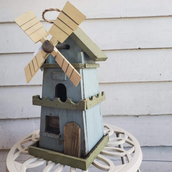 Birdhouse Windmill