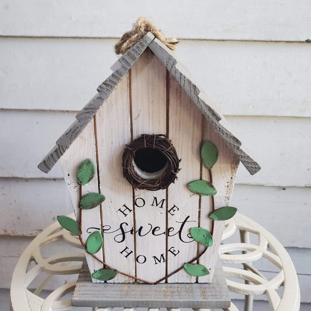 Birdhouse Home Sweet Home