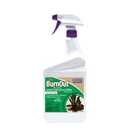 Weed Killer BurnOut - Bonide 1 Quart Ready to Use