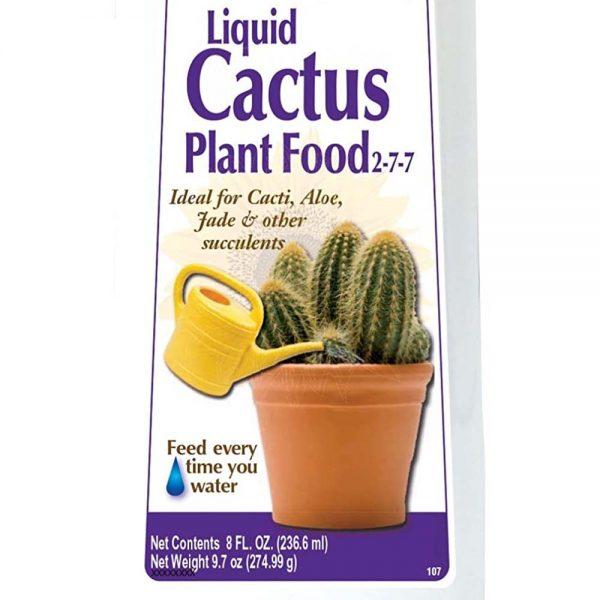 Cactus and Succulent Liquid Fertilizer Concentrate