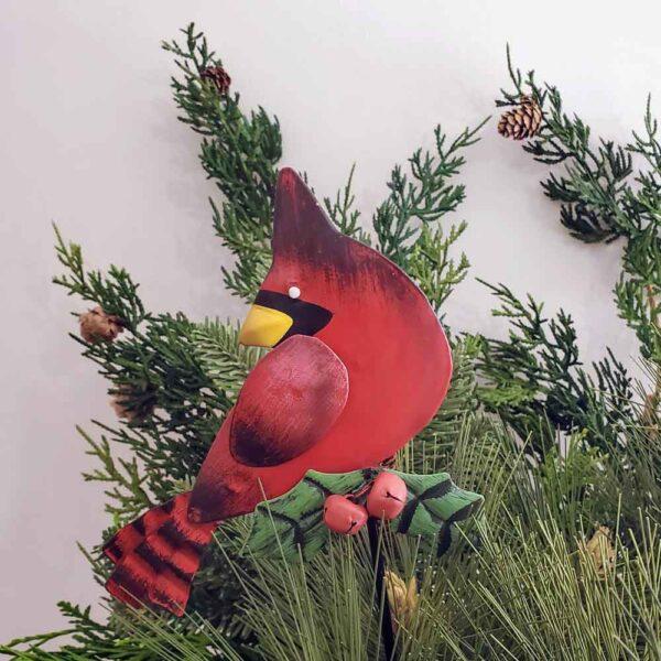 Cardinal Metal Stake