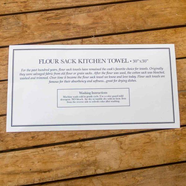 Flour Sack Towel Golden Retriever