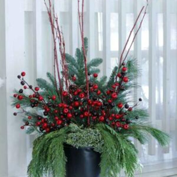 Fresh Cut Evergreen Bundles for Containers
