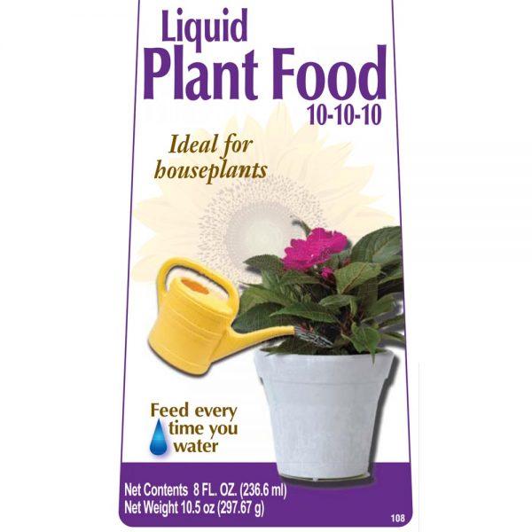 Fertilizer – Houseplant Liquid Fertilizer Concentrate Bonide 6 Oz