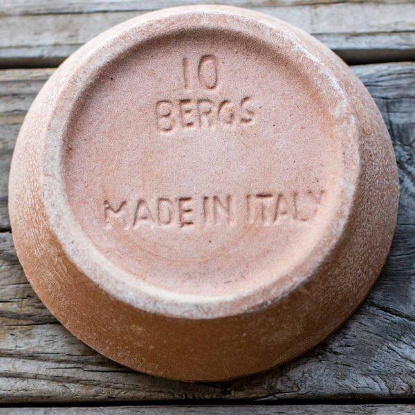 Italian Pottery Terra Cotta Saucer 3 Inch