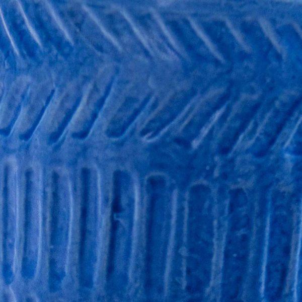 Pot Lines Planter Matte Blue