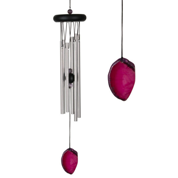 Wind Chime Agate Red