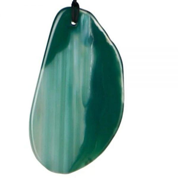 Wind Chime Agate Green