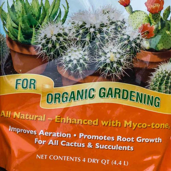Potting Soil Cactus and Succulent Organic Mix