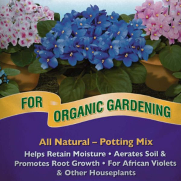 Potting Soil African Violet and Other Houseplants Premium Organic Mix