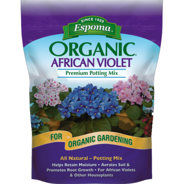 Pottng Soil African Violet and Other Houseplants Premium Organic mix