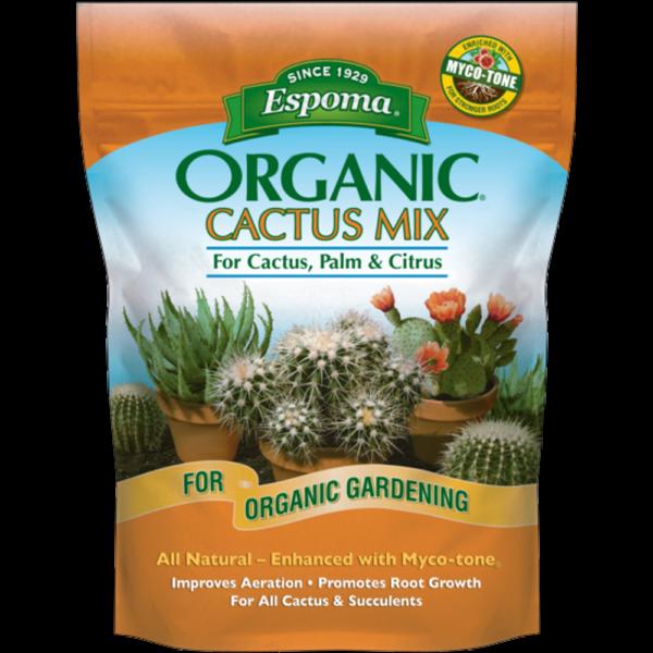 Pottng Soil Organic Cactus and Succulent mix