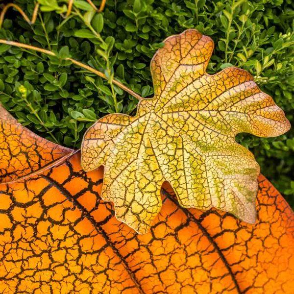 Pumpkin Garden Stake Elegant Jumbo On Two Poles