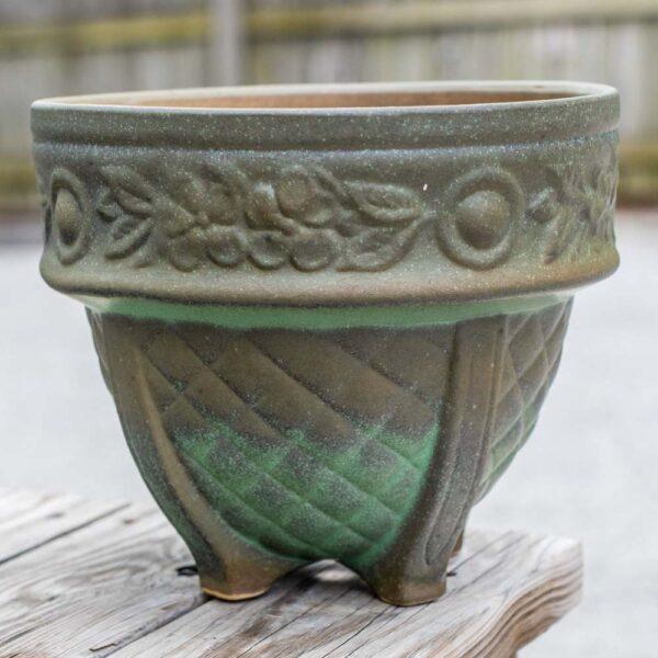 Roman Pot Green Matte