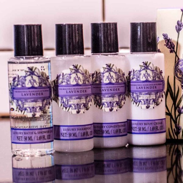 Luxury Lavender Travel Collection