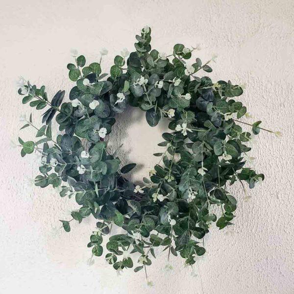 Wreath Faux Eucalyptus