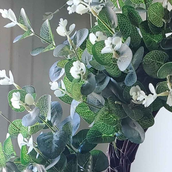 Wreath Faux Eucalyptus