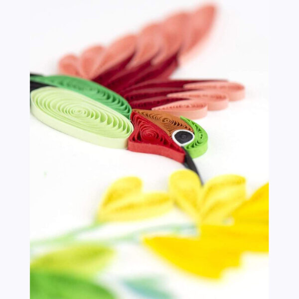 Card Quilled Hummingbird