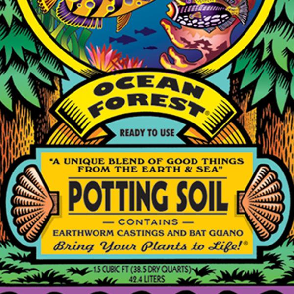 Potting Soil Fox Farm Ocean Forest Organic 1.5 Cubic Foot