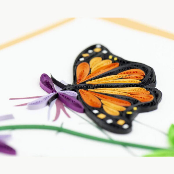 Card Quilled Monarch Butterfly
